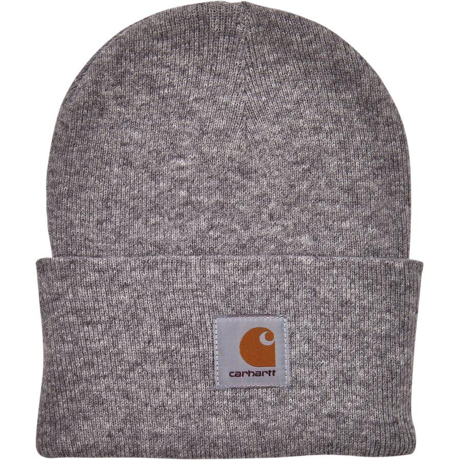 ACRYLIC WATCH HAT I020175. - Acrylic Watch Hat - Huer - GREY HTR - 1